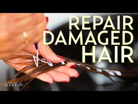 Repair Dry, Damaged Hair in One Treatment
