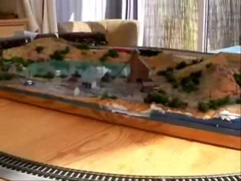Model railway: Does size matter?  A comparison: