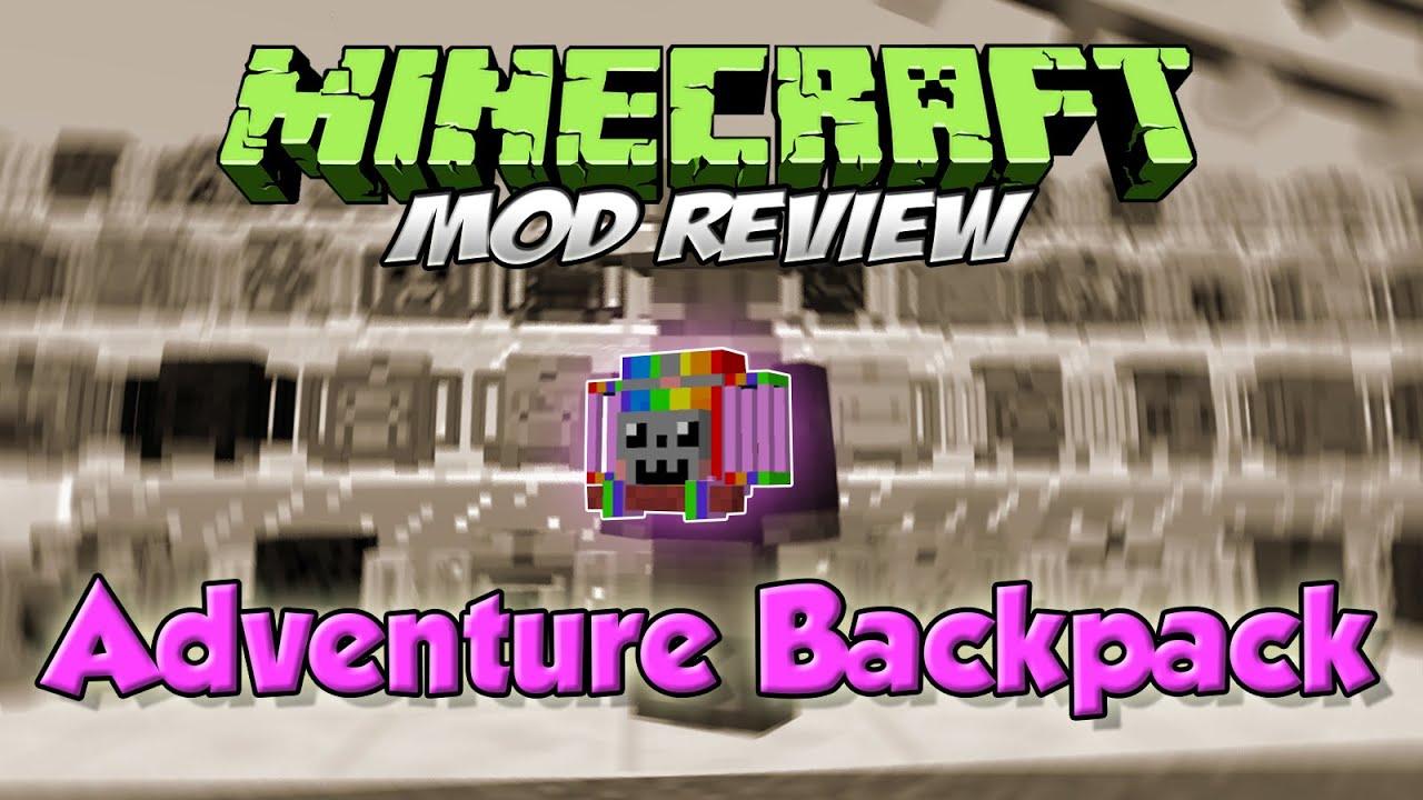 ce63bcd7a ADVENTURE BACKPACK MOD MINECRAFT 1.7.10 ESPAÑOL | Mochilas de aventurero! |  MINECRAFT MODS