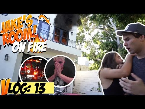 Thumbnail: SET JAKE PAUL'S ROOM ON FIRE (PRANK GONE RIGHT!)