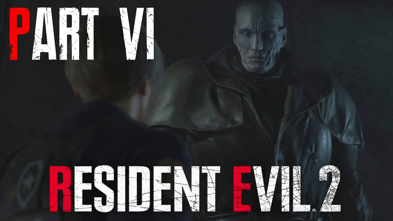 Resident Evil 2 Remake Walkthrough Gameplay Part 6 Tyrant Leon