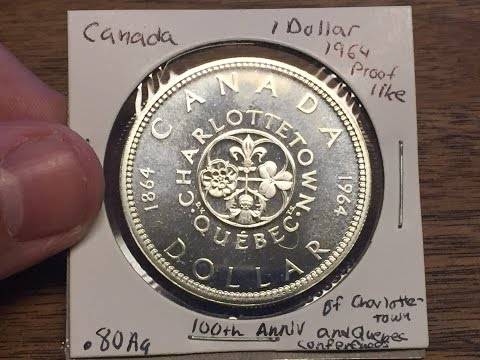 Canada 1 Dollar 1964 (Large Silver Coin of the Week Jan 3 2016)