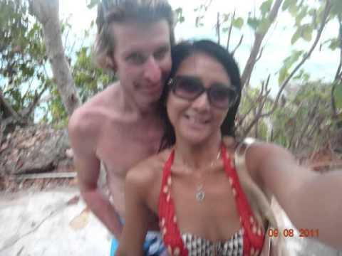 Marcus Nash and Katerina Hanusova