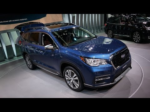 2019 Subaru Ascent Debuts with Standard EyeSight Driver Assistance