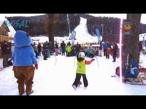 Dzieci na nartach. Kursy narciarskie dla dzieci w Centrum Szkoleń Narciarskich Nosal -Zakopane