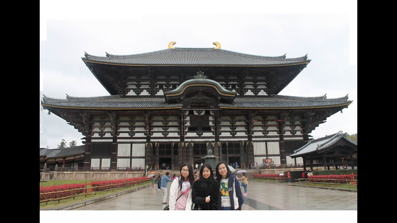 Travel Japan Todaiji Temple The Worlds Largest Wooden Building A Landmark Of Nara