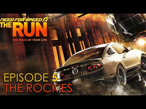NFS The RUN - Episode 5 (Stage 5 - The Rockies) Story Mode Gameplay
