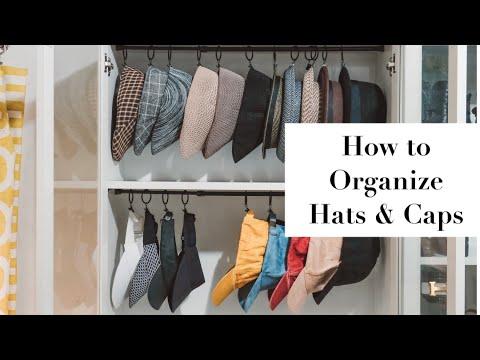 ORGANIZE: Hats & Caps