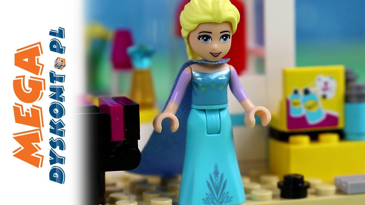 U Fryzjera Klocki Lego Frozen Kraina Lodu Lego Friends Bajki