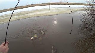 Последний лед. Рыбалка на паук-подъёмник.