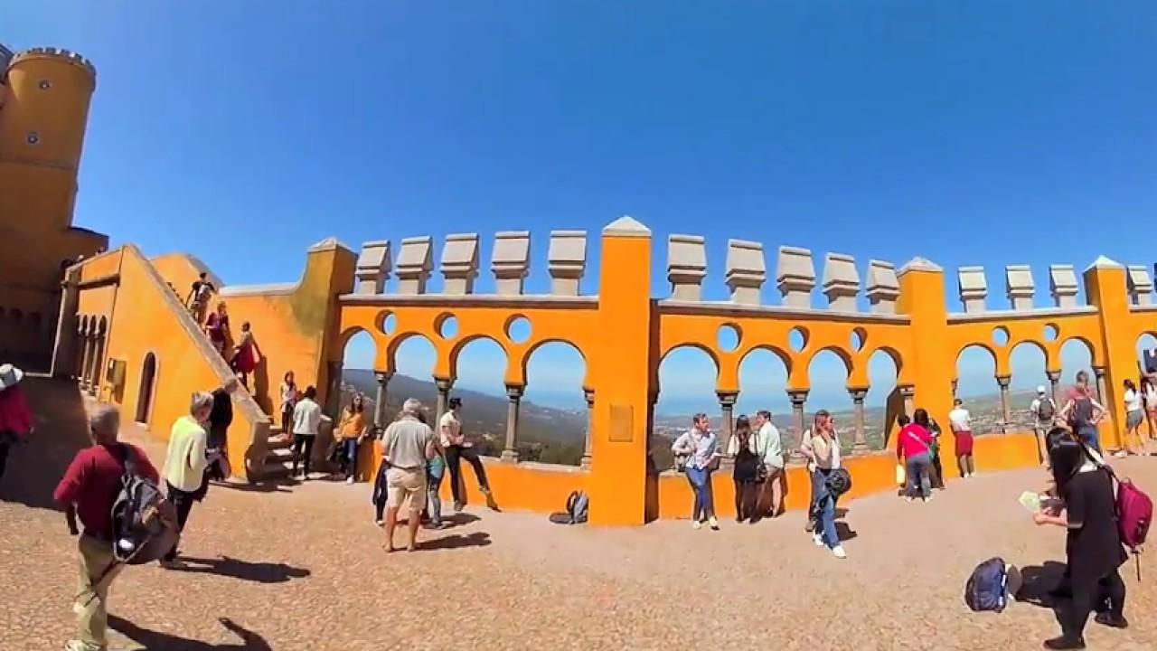 Portugal - Sintra Pena Palace + James Bond Hotel Estoril + Cabo da Roca RYLO 360 Grad 4K