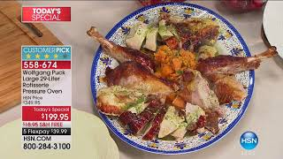 HSN   Chef Wolfgang Puck 10.07.2017 - 09 PM