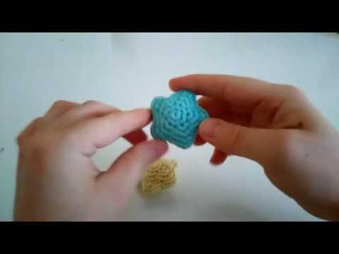 Amigurumi Yıldız Anahtarlık Yapımı (Görüntüler ile) | Örgü ... | 360x480