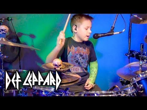 ANIMAL (9 year old Drummer) Drum Cover by Avery Drummer Molek