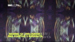 Zetcon 2k16 - Mading 3d (Hologram) Sma Karitas 3 Surabaya