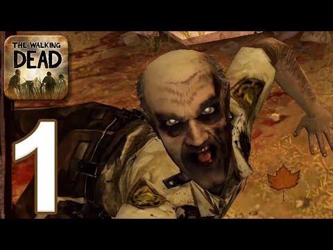 The Walking Dead Game: Season 1 - Gameplay Walkthrough Part 1 - Episode 1 (iOS, Android)