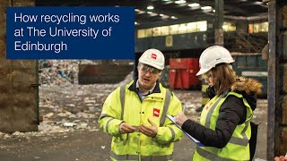 How recycling works at The University of Edinburgh