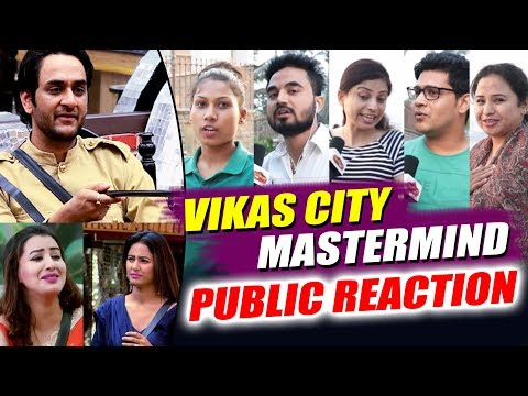 Vikas City Task | Vikas Vs Hina Vs Shilpa | Public ANGRY Reaction | Bigg Boss 11