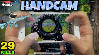 M416 + 6x SEKMİYOR!!! | 29 KiLLS!! | HİLE GİBİ SPRAY ATMAK! | HANDCAM GAMEPLAY - PUBG Mobile