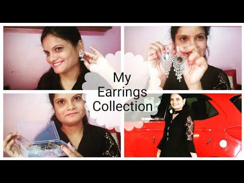 My Earrings Collection 😍 / #2 Simple Earrings/ Sravanthi Vitta