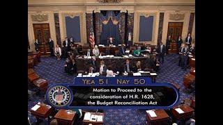VP Pence Breaks Tie, Senate Takes Up Health Bill