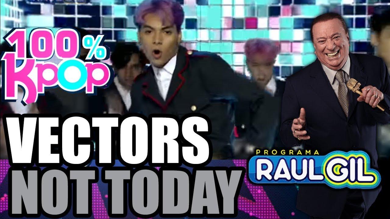 100 Kpop Vectors Apresentam Not Today Raul Gil Youtube