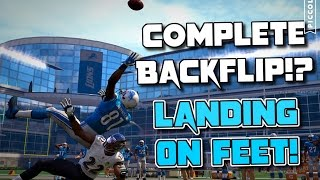 CAN MEGATRON DO A COMPLETE BACKFLIP ONTO HIS FEET AND THEN RUN FOR A TOUCHDOWN?? Madden Challenge