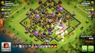 Clash of clans, defense against LP from Lost Phoenix, one of the best clash clans in the world!