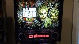 The Walking Dead LE Pinball Game play : B_R