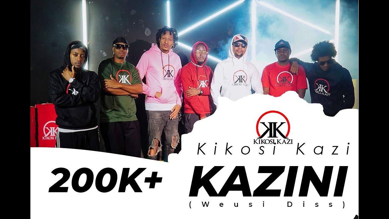 Download Kikosi Kazi - Kazini Official Video (WEUSI DISS)