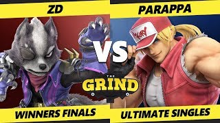 Smash Ultimate Tournament - ZD (Fox, Wolf) Vs Parappa (Hero, Terry) The Grind 103 SSBU Winners Final