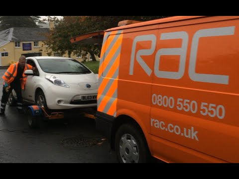 Nissan leaf break down recovery tested in real life for Ep ptable queue proc