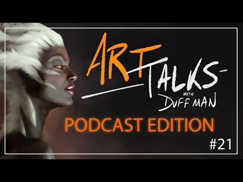 Masculine vs Feminine - Art Talks with Duffman [PODCAST EDITION]
