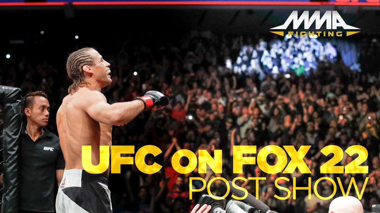 UFC on FOX 22 Post-Fight Show ...