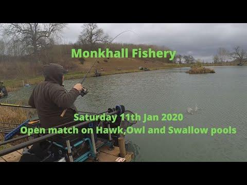 Monkhall Fishery Saturday 11th Jan 2020 Open Fishing Match