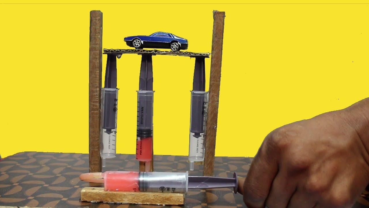 Hydraulic Lift - DIY Science Project