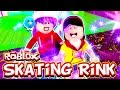 Roblox Skating Rink - Take a Selfie and Dance Off! Skate! - DOLLASTIC PLAYS & RadioJh Games Audrey