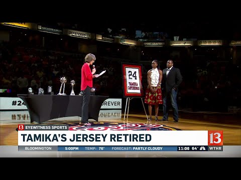 Tamika Catchings number retired