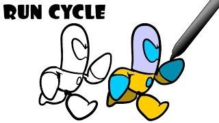 Run Cycle [Animation Tutorial]