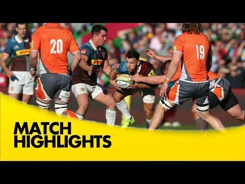 Harlequins v Newcastle Falcons- Aviva Premiership Rugby 2016-17