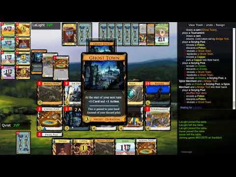 Streaming Dominion 028 vs. Lalight: Nocturne Previews 1 SP doesn't like Night Cards