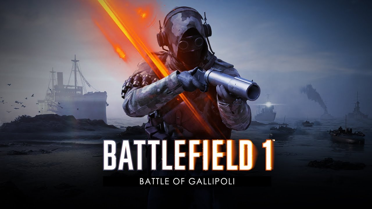 Battlefield 1 Battle Of Gallipoli Trailer Youtube