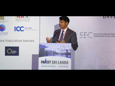 Sri Lanka's economic prospects by Mr. Taimur Baig, the MD and Chief Economist at DBS Group Research
