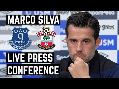 LIVE EVERTON V SOUTHAMPTON PRESS CONFERENCE | MARCO SILVA