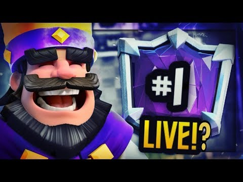 Can He Do It? PRO PUSHES for #1 Global LIVE w/ OFF-META DECK!