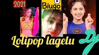 Tu lagale  jab thote lipistic 😀 full dj songs Biugo app spacial 2021 new trending