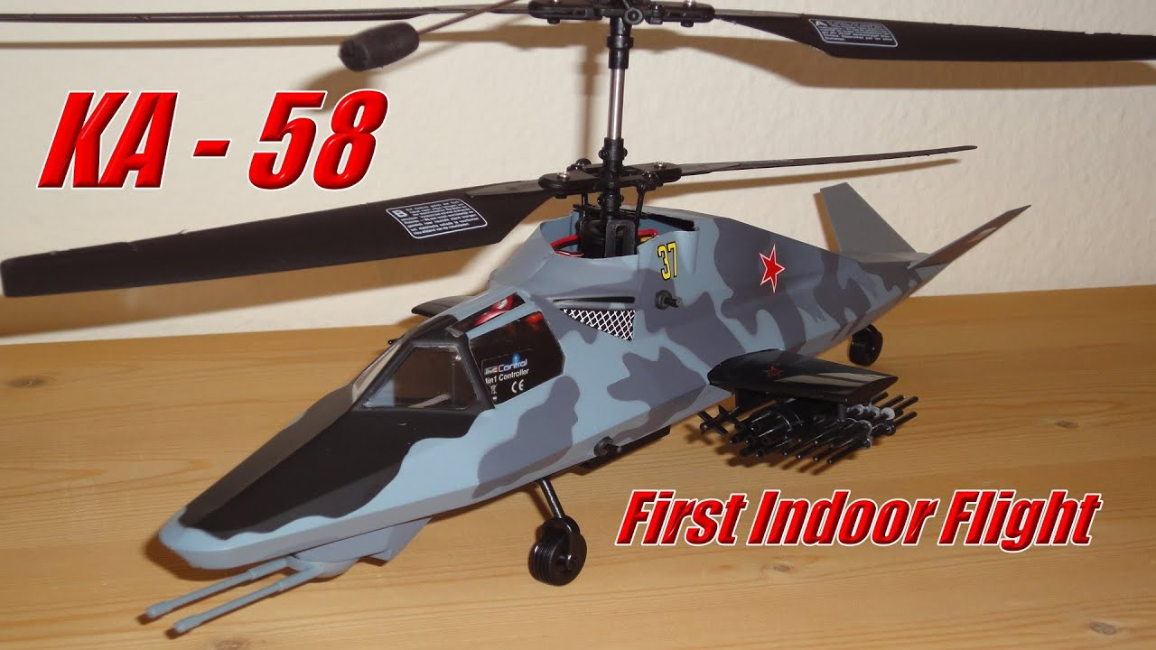Revell Control KAMOV KA-58 Stealth Helicopter ...