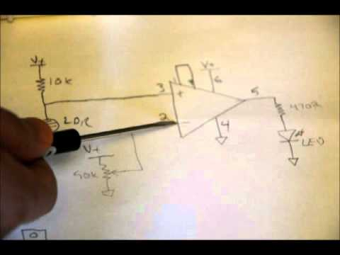 Electronic Tutorial - How To Make A Light Sensing Circuit From ...