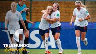 ¡Este gol se llevaría el premio al más extraño! | Copa Mundial Femenina Sub-20 FIFA Francia