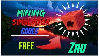 40+ LEGENDARY MINING SIMULATOR CODES! (AUGUST 2018) - Roblox